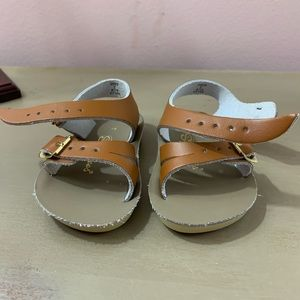 Sun-San Sandals Shoes - Sun San Sandals Sea Wees, brown leather, new